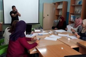 عقد دورة تدريبية للعاملات في نظام بنك المعلومات في منتدى المنظمات الأهلية الفلسطينية لمناهضة العنف ضد المرأة